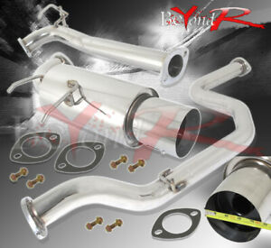 90 91 92 93 Acura Integra Da Gs Rs Ls 2 5 Piping Catback Exhaust System N1
