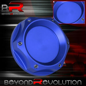Anodized Blue Universal For Mazda Jdm Car Engine Oil Cap Cover Filler Fill