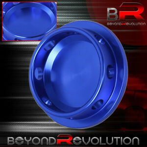 Blue Aluminum Engine Oil Fill Replacement Cap For Universal Mazda Pitch Thread