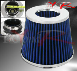 Acura Integra Rsx Tl Washable 3 Air Filter Double Stainless Steal Mesh Blue