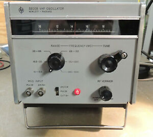 Hp 3200b 500mhz Rf Signal Generator Tested And Working Nice