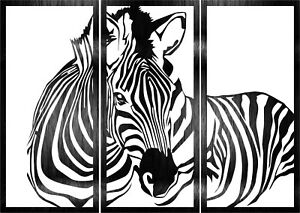 Dxf For Cnc Of Plasma Laser And Router Zebras Panel