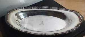 International Silver Company Chippendale 6319 Silver Plated Bread Tray 13 Long