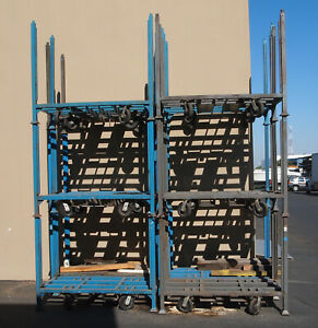 Stackable Carts W wheels An Lift Slots 1000 Lb Capacity woodworking Machinery