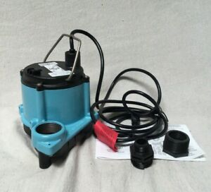 Little Giant 6 cimr 1 3 Hp Submersible Sump Pump No Switch Included Switch Type