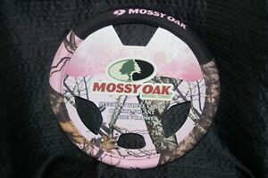 New Mossy Oak Pink Camo Steering Wheel Cover Car Vehicle Truck Van Suv Universal