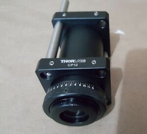 Laser Beam Expander With Dual Thorlabs Cp12 30 Mm Cage Plate