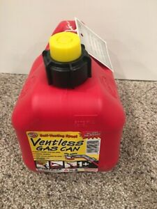 New Blitz 1 Gallon 4 Ounce Vented Spout Gas Can Self Venting Usa Brand New