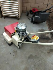 Edco 2ec Dual Disc Concrete Floor Grinder 5 Hp 220 Volt Local S cal