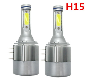 H15 Led Headlight Bulb Conversion Kit Drl Lamp For Car Accessories