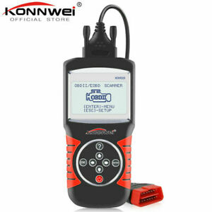 Konnwei Kw820 Automotive Scanner Multi languages Obdii Eobd Diagnostic Tool Car