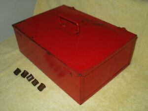Vintage 1967 Snap On Tools Kra 108a Armature Reconditioning Storage Tool Box