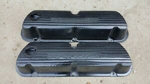 Powered By Ford Aluminum Valve Cover Sbf 289 302 351 Windsor V8