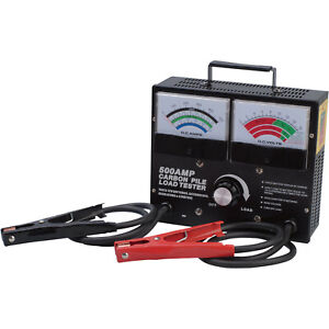 New Ironton Battery Carbon Pile Load Tester 500 Amps