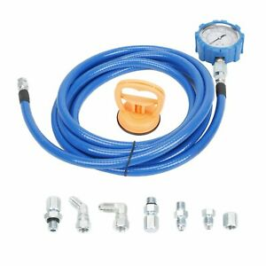 For Ford Powerstroke 6 0l 7 3l Fuel oil Pressure Mechanical Gauge Test Tool Kit