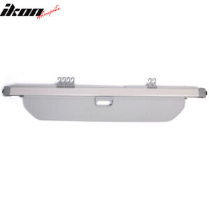 Fits 16 19 Honda Pilot Factory Style Pvc Cloth Retractable Cargo Cover Gray