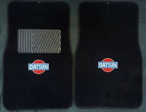 1979 1983 Datsun Logo Datsun Z Carpet Floor Mats Carpet 2pc