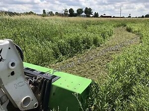 Skidsteer Flail Mower Peruzzo Ss190 75 Direct Drive Cut3 dia 25gpm offsetable