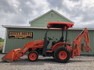 2012 Kubota B26 Hst 4x4 Compact Tractor Loader Backhoe Low Hours Clean Tlb