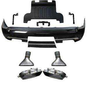 13 17 Range Rover L405 Rear Bumper W Muffler Tips Special Edition 18 19 Styling