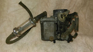 Solex Carburetor 30pict 2 Vw126 2 Made In W Germany Vw Volkswagon
