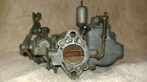 Solex Carburetor 32pcsit 3 K1834 Made In W Germany Vw Volkswagon