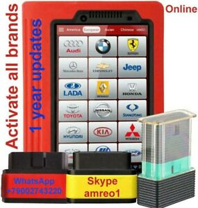 Activation Update Launch Easydiag 2 0 3 0 Golo Carcare X431pro3 All Car Brand