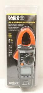 New Klein Tools Cl210 400 amp 400ac Auto Ranging Digital Clamp Meter