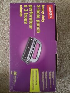 Staples Heavy Duty 3 Hole Punch