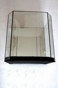Glass Mirrored Table Top Display Case 9 High