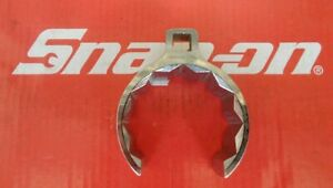 Snap On Tools 1 2 Drive 2 11 16 Deep Flare Nut Crowfoot Wrench An850843b New
