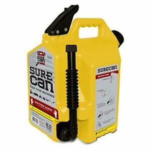 Surecan Diesel Gas Can With Rotating Spout 5 0 Gallons