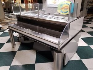 Sushi Display Cooler Prep Table Barker Refrigerated Work Table