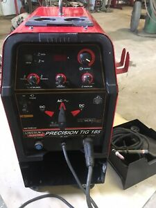 Lincoln Electric Precision Tig 185 Micro Start Technology Welding Arc Rods 230v