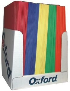 Two Pocket Folders Assorted Colors Case Of 100