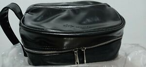 Leather Toiletry Bag Travel Kit For Men Women Premium Compact Durable