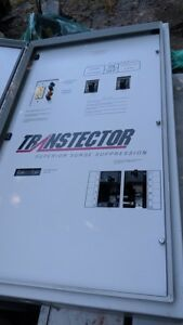Transtector Superior Surge Supression Generator Disconnect Hoffman Box