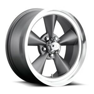 One 1 17x7 Us Mag U102 Standard Et 1 Gunmetal 5x120 7 Wheel Rim