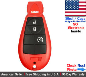 1x New Replacement Remote Control Key Fob Case For Dodge Ram Caravan Shell