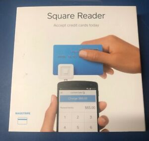 Square Credit Card Reader For Mobile Devices Brand New Sealed