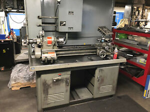 South Bend Lathe 10 X 34 With Cabinet Base Model Cl 187rb