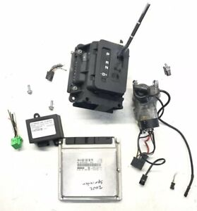 02 03 Sprinter 2 7l 2500 3500 Ecu Engine Computer Shifter Key Ring Ignition Set
