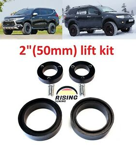 Lift Kit For Mitsubishi Montero Pajero Sport 08 19 2 50mm Strut Spacers