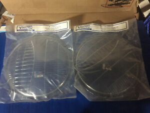 1932 Ford Car Pickup Truck Glass Headlight Lens Pair Vintique