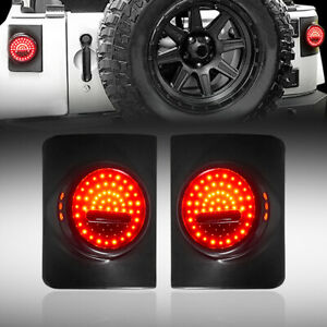 Jeep Wrangler Jk Jku Smile Face Led Tail Lights For Wrangler 2007 2018