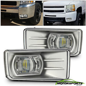 2007 2014 Chevy Silverado Tahoe Suburban Avalanche Led Driving Bumper Fog Lights