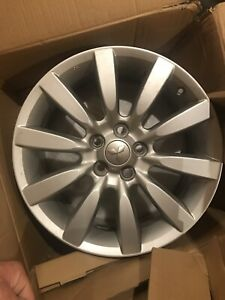 2009 09 Mitsubishi Lancer Ralliart Oem Wheel 18x7 46offset 5x114 3 1 3 540