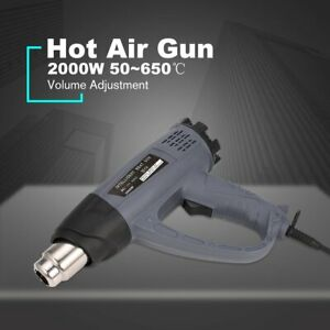 2000w Hot Air Gun Thermostat Heat Gun Heat Air Gun Blower Thermal Power Tool 0t