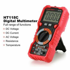 Ht118c Digital Multimeter Backlight Buzzer Protection Ac Dc Ammeter Voltmeter Dr
