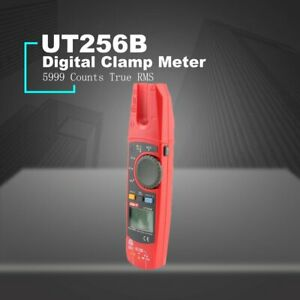 Ut256b Auto Range 200a Ac dc Current True Rms Digital Fork Type Clamp Meter Dr